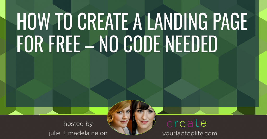 How to Create a Landing Page For Free – No Code Needed