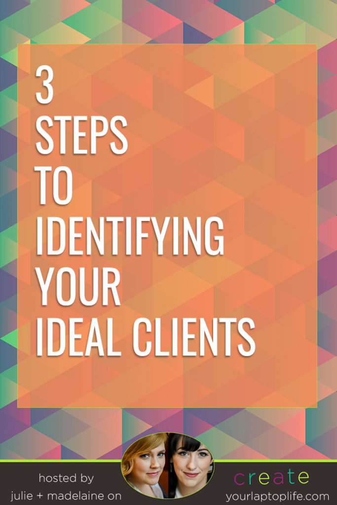 Deciding who your ideal clients are is a pretty important decision - it can influence HOW you design your website, HOW you write your copy, WHAT you decide to set your rates at and WHICH kind of services you focus on.