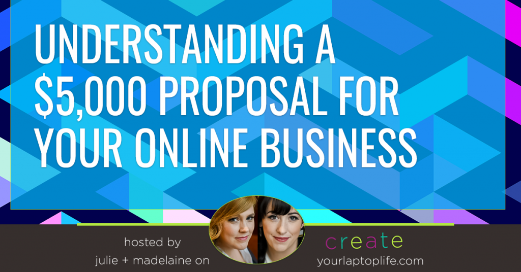 Understanding a $5,000 Proposal for Your Online Business
