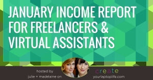 January Income Reports from CYLL Members